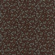 Moda - Summer on The Pond by Holly Taylor - 5734 - Ditsy Leaves on Brown - 6724 19 - Cotton Fabric